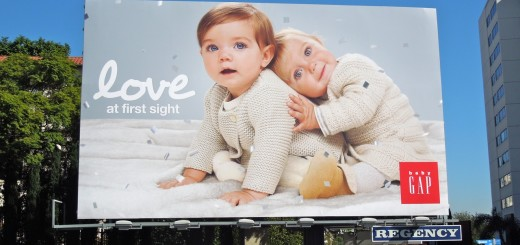 love babygap billboard