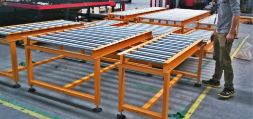 pl3317643-flexible_heavy_duty_roller_conveyor_for_warehouse_transporting_package