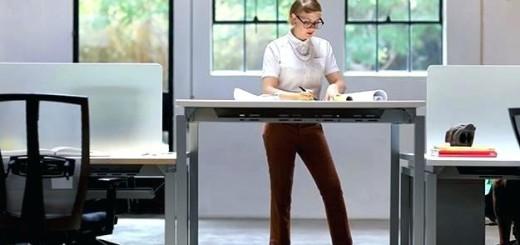 office desk standing office desks workplace posture a first step standing office desk